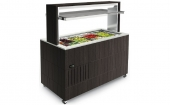 Cooled saladette Doge Isola 2000 RF Pale OAK